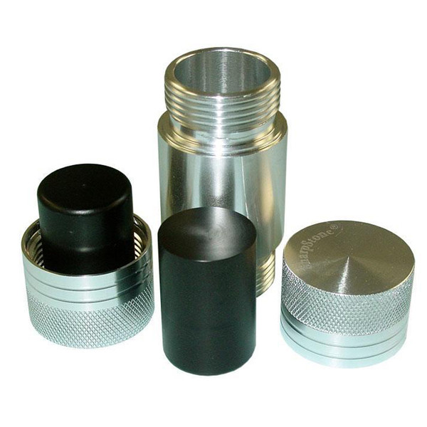 SharpStone Aluminum Pollen Press