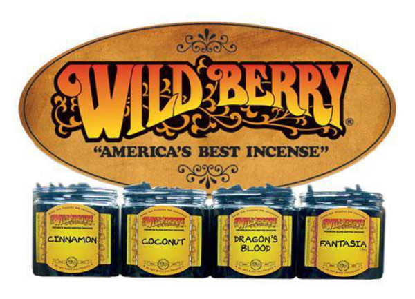 Wild Berry Incense Cones | Wholesale Bundle | Sandalwood