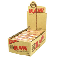 Raw Eco Hemp 79mm Cigarette Rolling Machine - 12pc Display