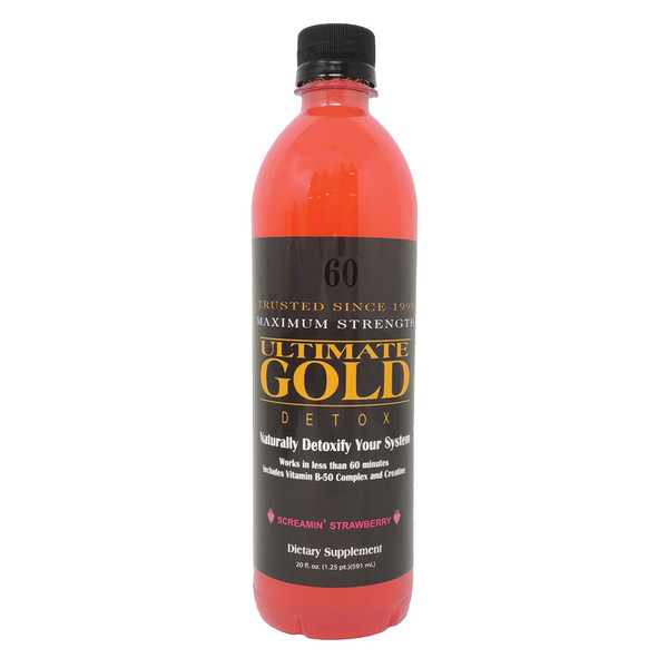 Ultimate Gold Original Detox Drink | Strawberry | Wholesale
