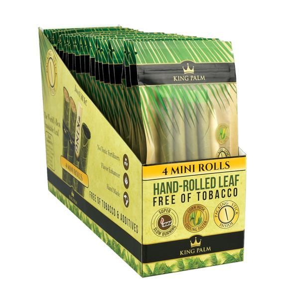 King Palm Hand Rolled Leaf | Best Wholesale Display