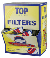Top Cigarette Filter Tips - 15mm / 30pc Display
