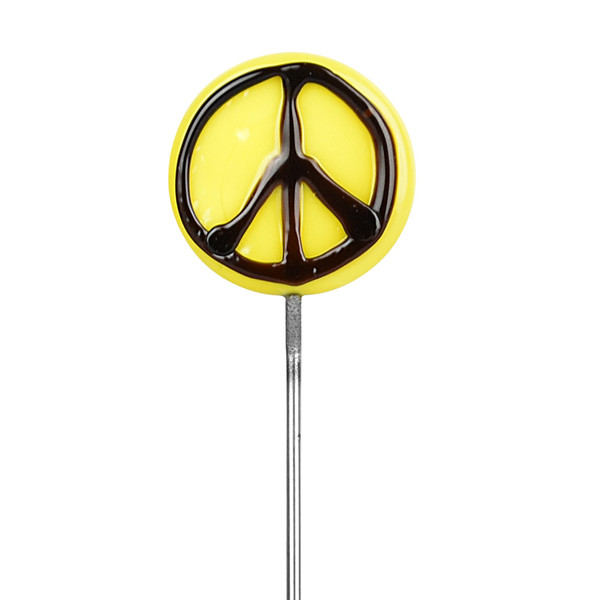 Glass Poker / Dabber Tool - Wholesale | Flat Peace Sign
