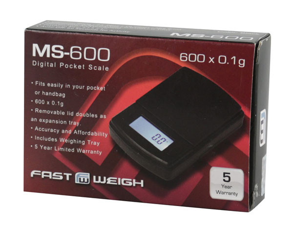 Fast Weigh Standard Digital Scale - 600g x 0.1g