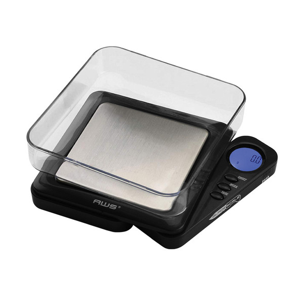 AWS Blade Style Digital Scale w/Tray - Black