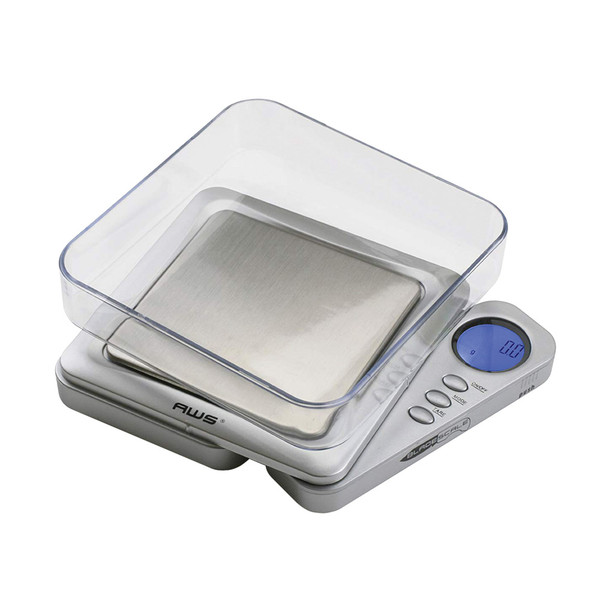 AWS Blade Style Digital Scale w/Tray - Silver