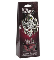After Dark Incense Cones w/ Burner - 30pc / Go Away Evil