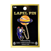 Alien Planet with Astronaut Explorer Lapel Pin | Wholesale