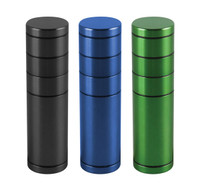 "All-In-One Dugout/Grinder w Storage - 5"" / Assorted Colors"