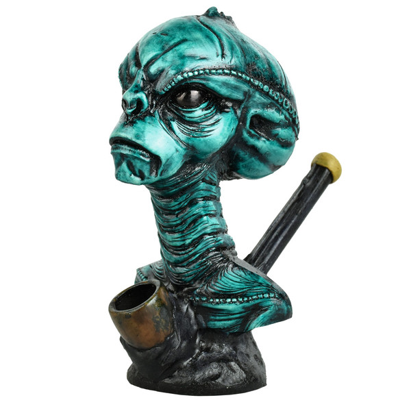 Arcturomorph Alien Head Hand Pipe | Wholesale Distributor