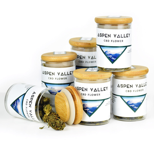 Aspen Valley Hemp Flower | Frosted Lime | Wholesale