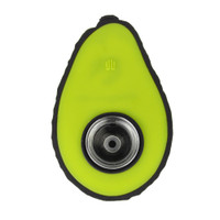 Avocado Silicone Hand Pipe - 4.75"
