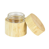 Bamboo Encased Childproof Glass Storage Jar | 60mL | Wholesale