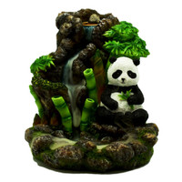 Bamboo Waterfall Panda Backflow Incense Burner | Wholesale