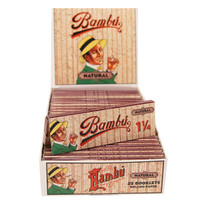Bambu Natural Rolling Papers - 1 1/4"