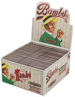 Bambu Natural Rolling Papers - King Size - 50pc Display - AFG