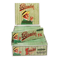 Bambu Organic Hemp Rolling Papers - 1 1/4"