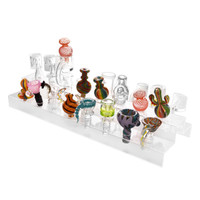 Banger / Bowl Clear Acrylic Display - 14 & 19mm Female