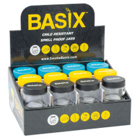Basix Childproof Glass Stash Jar | 60mL | Wholesale