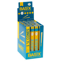 Basix Natural Pre-Roll Cones | 1 1/4 | Wholesale Distributor
