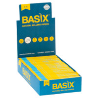 Basix Natural Rolling Papers | 1 1/4 | Wholesale Distributor