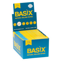 Basix Natural Rolling Papers w/ Tips | 1 1/4 | Wholesale Distributor