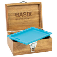 Basix Smellproof Wooden Box w/ Rolling Tray | Wholesale