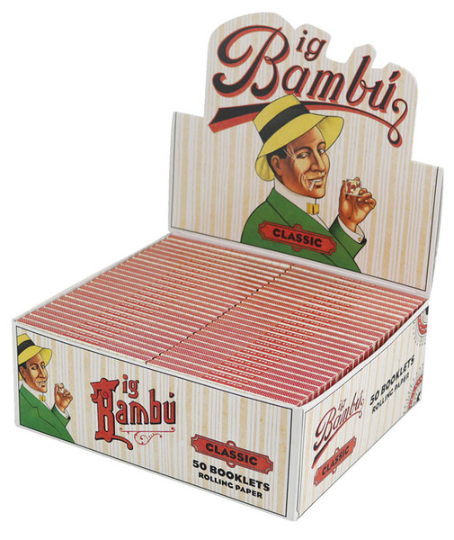 Bambu Classic Rolling Papers - Regular - 50pc Display - AFG
