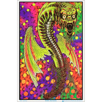 Black Butterfly By Virgil Finlay Blacklight Poster | Wholesale