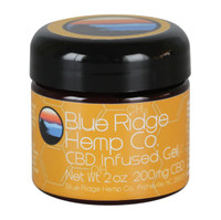 Blue Ridge Hemp CBD Infused Gel - 2oz | 200mg