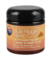 Blue Ridge Hemp CBD Scrub - Turmeric & Neem - 4oz / 100mg