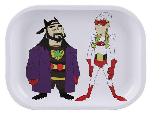 "Bluntman & Chronic Rolling Tray - 13.5"" X 11"" / Large"