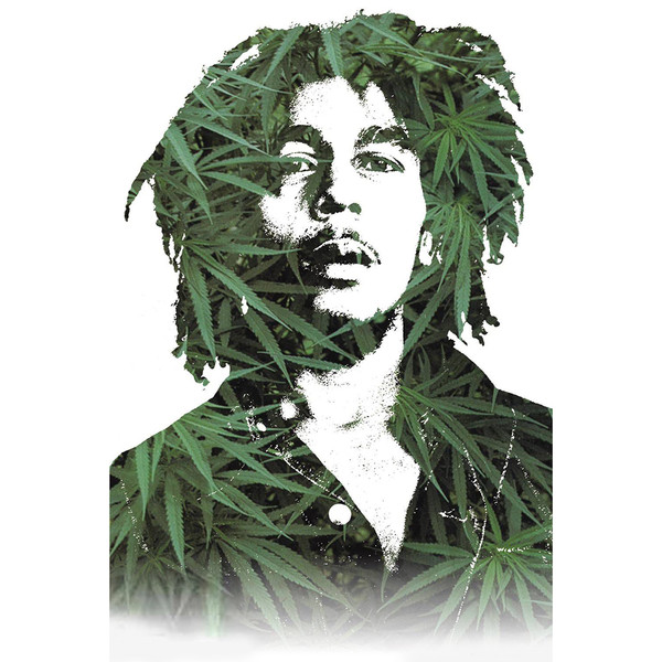 Bob Marley Leaves Poster | Officially Licensed | Master Distributor