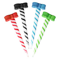Bow Topped Candy Cane Dabber | Wholesale Distributor