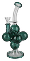 "Bubble Chamber Waterpipe - 9.75"" / 14mm Female - AFG Dist"