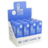 CBD Living Disposable Vape - 250mg | 12pc Display