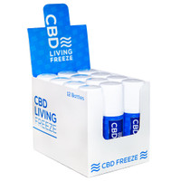 CBD Living Freeze - 120mg CBD | 12pc Display