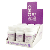 CBD Living Gummies - 300mg | 12pc Display
