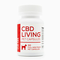 CBD Living Pet Gel Caps - 25mg | 30ct