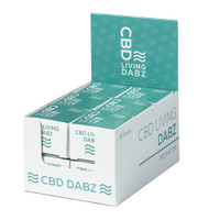 CBD Living Dabz Shatter | POP Display | Master Distributor