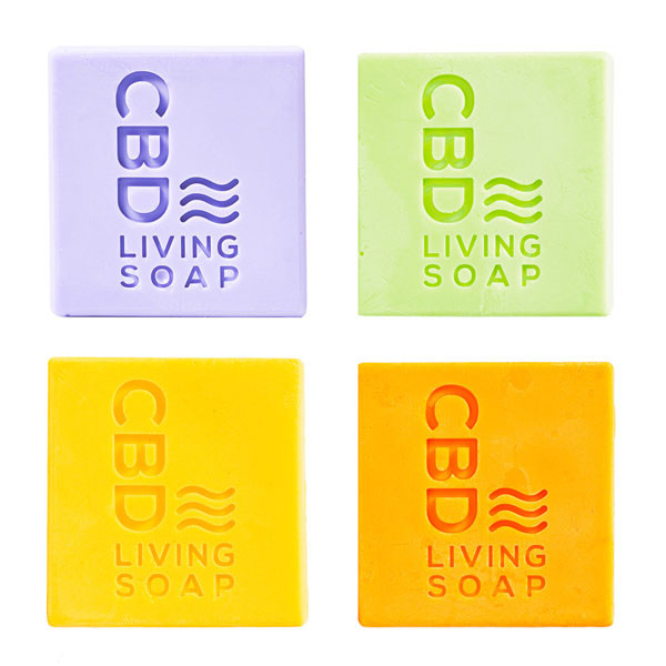 CBD Living Soap - 4.5oz | 60mg CBD