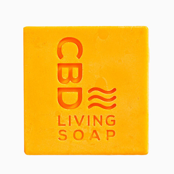 CBD Living Soap - 4.5oz | 60mg CBD | Amber Bergamot