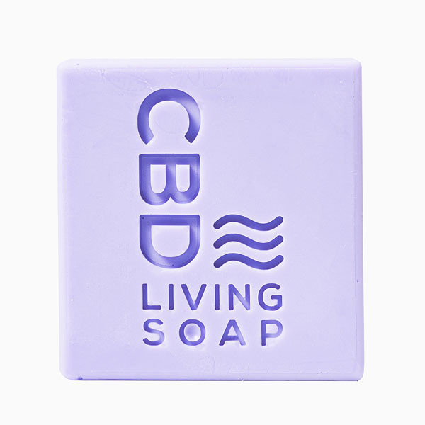CBD Living Soap - 4.5oz | 60mg CBD | Lavender