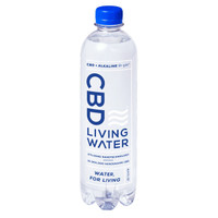 CBD Living Water 9+ pH Alkaline - 15mg | 24 Pack