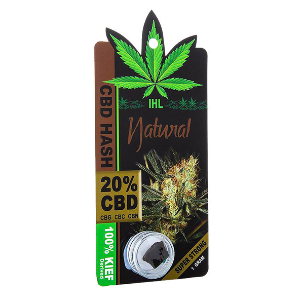 CBD Sativa Black Hash | Natural | Organic | Master Distributor