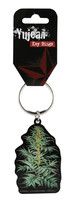 "Cabinet of Curiosities Cannabis Plant Keyring - 1.5""x2.5"""