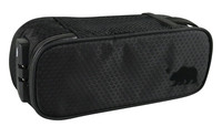 Cali Crusher Locking Soft Case - 9.5x4x3.5 Inches / Black - AFG Dist