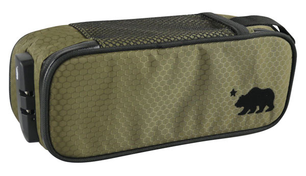 Cali Crusher Locking Soft Case - 9.5x4x3.5 Inches / Green - AFG Dist