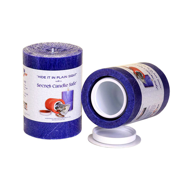 Candle Security Container | Blue | Buy Wholesale