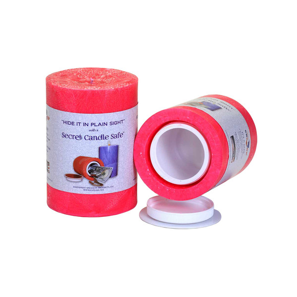 Candle Security Container | Pink | Wholesale Distributor